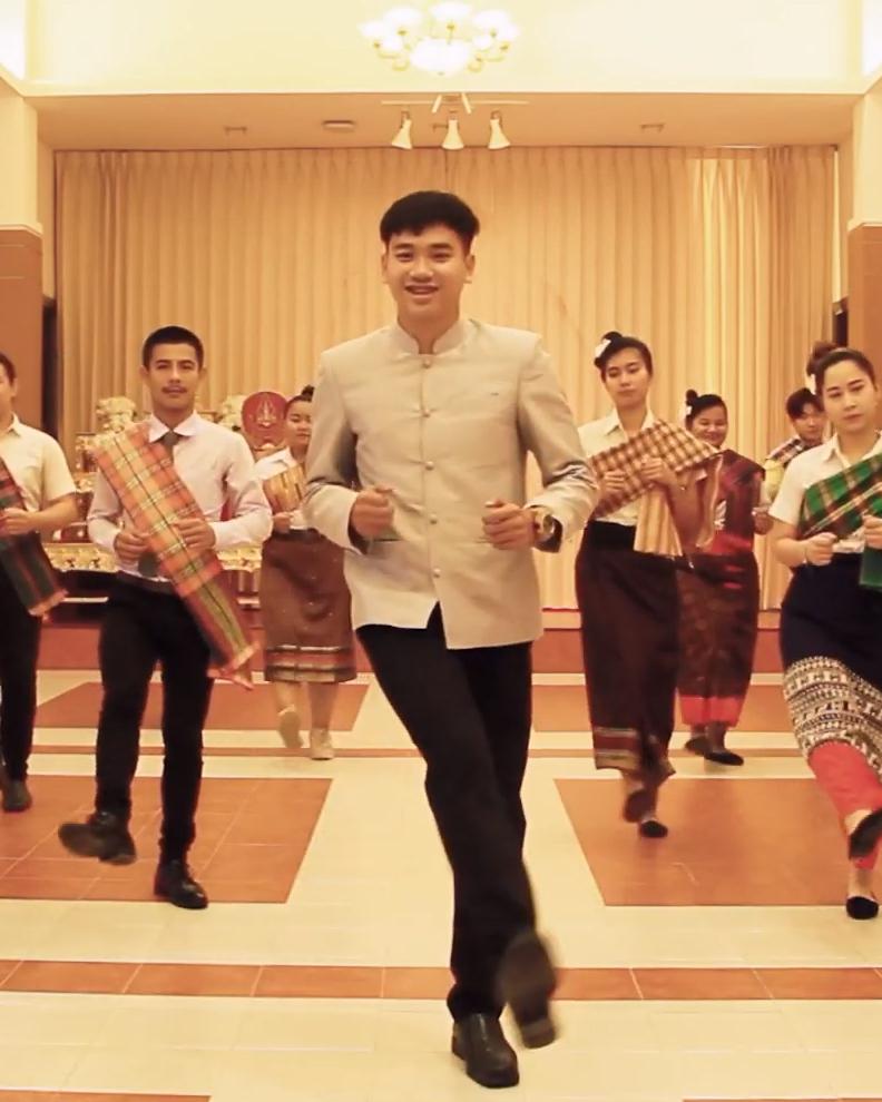 วัฒนธรรมและวิธีการเต้นบาสโลป โดย นักศึกษาคณะมนุษยศาสตร์ และสังคมศาสตร์ มหาวิทยาลัยมหาสารคาม