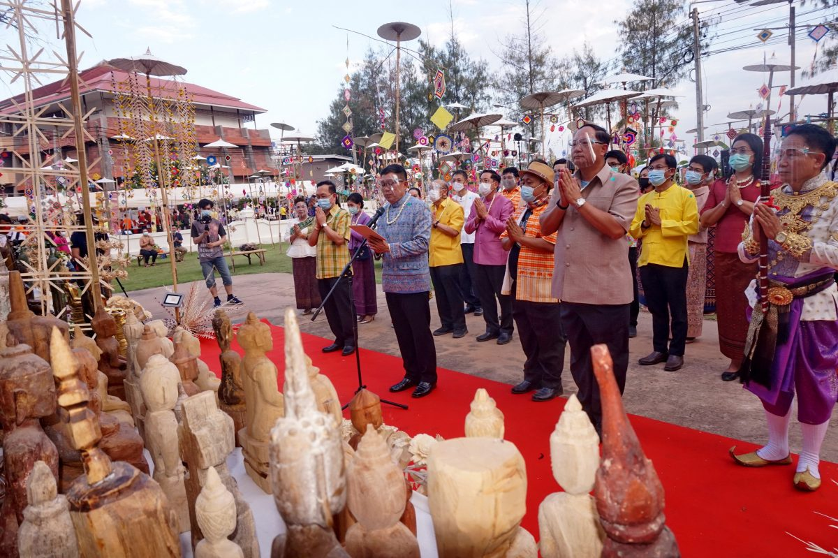 """The conservation of beautiful arts and culture, Even in the time of COVID in the """"Fifth month merit festival, the Buddhist worship parade"""